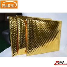 wholesale metallic bubble padded envelopes /customized printed bubble mailers custom envelopes/A4 gold decorative envelopes