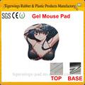 2014 caliente venta personalizada de gel niñas sexo foto alfombrilla de ratón