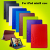 Crazy Horse Stand PU Leather Flip Case Cover For iPad Mini 2