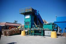 automatic horizontal press machine for flotsam