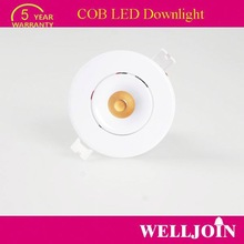 TOP SELLING!! Professional Adjustable 7W LED COB led ceiling downlight led light for home