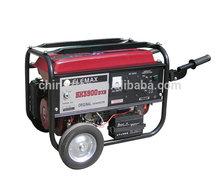 backup generator 5000w 13hp engine electric start home power generator