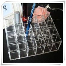 24 lattices lipsticks Acrylic cosmetic Display/elegant Acrylic cosmetic organizer