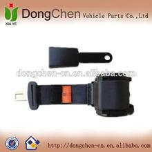 seat belt use automobile 2 point reflective seat belt safety lock buckle
