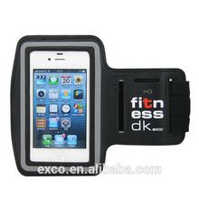2014 hot neoprene waterproof PU phone mp3 player armband case