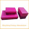 Handmade paper jewelry boxes
