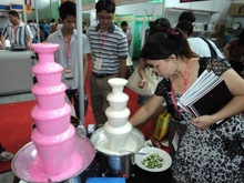 Best Sale and Cheap Chocolate fountain machine