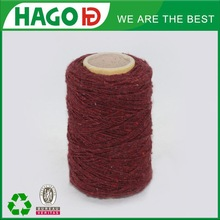 1s 65/35 remnant cotton and polyester yarn in recycled yarn for blanket
