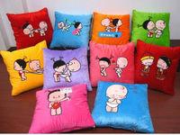 GCEBKT032 velboa foldable blanket pillow 2 in 1 pillow blanket that folds into pillow