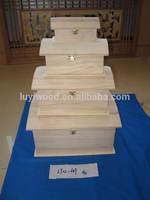 2014 NEW DESIGN wooden box , wooden Treasure chest