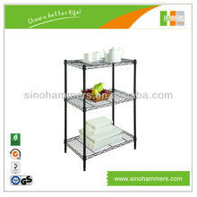 New Chrome Wire Storage Shelving for Home Organize