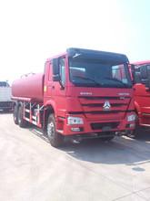 Sinotruk Howo 6x4 heavy oil tanker truck