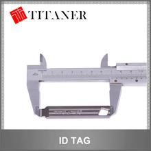 functional titanium cattle tag