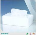de haute qualité et bas prix boîte de tissu acrylique avec motif