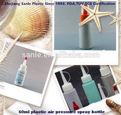 60ml plastic air pressure spray bottle