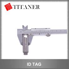 multopurpose titanium qr code pet tag