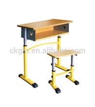 children study desk and chair set, school furniture