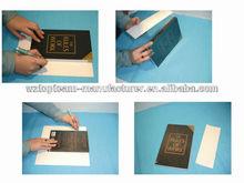 PET Self-adhesive Rigid Book Cover Sheet, PET Transparent Adhesive Rigid Book Cover Sheet
