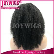 Factory direct brazilian hair long black afro wig