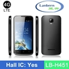 New slim Hotknot Android4.4kk 4G LTE Quad core mtk6582 mt65xx android phone with GMS license LB-H451 OEM ODM