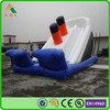 unique inflatable toy fire truck slide, inflatable pirate ship slides