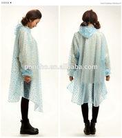 custom made pvc hooded rain cape poncho for adults handmade poncho