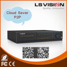 LS VISION 4ch real time dvr 4channel h.264 network security cctv dvr 720p camera dvr
