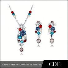 China Wholesale African Beads Jewelry Set