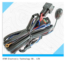 2014 best selling cheap car 12v h3 lamp lighting system wiring harness