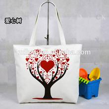 Blank drawstring cotton bag eco friendly 100% cotton