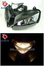 Motorcycle Cool Style Black Headlight With Brilliant Big Head Light Bulb for CBR 1000RR 1000 RR CBR1000RR 2004 2005 2006 2007