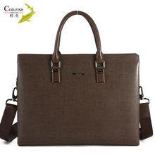 Dropshipping lead the fashion black patent best handicraft brand professional leather men's handbag
