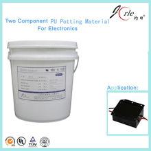 Aluminium pot PU pouring sealant for electronic spark control