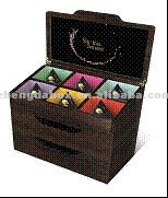 High Quality Customized Made-In-China Wooden Tea Chest for Sale(ZDL-TB03-W19)
