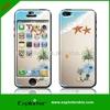 Newest customize OEM bumper color soft phone cover skin sticker