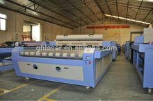 fast auto feed fabric laser cutting machine