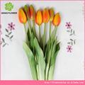 de alta calidad artificiales de plástico tulipán ramo de flores naturales como