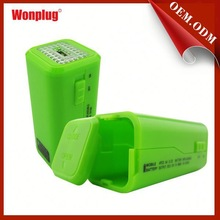 New design power bank wall plug adapters convenient for you