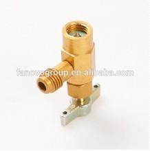 Latão pode bater válvula ferramentas de refrigeração para R134A Auto AC sistema