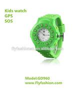 GPS Child Tracker Mobile Watch Phone Wrist Watch MP3 Player Kids Watch Mobile GD960 Bluetooth