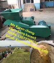 cow straw feed cutting machine/corn stalk crusher