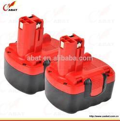 Power tool battery BAT038, BAT040, BAT041 NIMH 14.4V 2.0Ah for Bosch GSR 14.4 VE-2