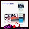 Vente chaude!!! Sex developpe delay cream, crème d'agrandissement de pénis, lubrifiant de sexe masculin 50ml