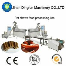 Dog chew food machine, food processing line, Animal food processing line