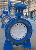 API triple eccentric flange butterfly valve for oil and gas