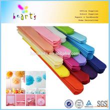 sweet color tissue pom pom,baby pink paper pompom