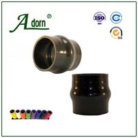 Water heater corrugated solid rubber pipe