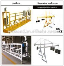 suspended platform /gondolas with 1.8kw electric motor