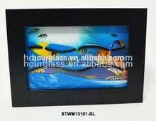 pesce foto sabbiain movimento arti con specchio