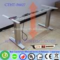 chrome furniture feet electric height adjustable working table leg reception desk frame hair salon